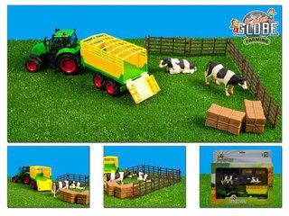 Kids Globe tracktoren landbouwmachine's