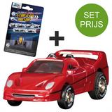Darda Racebaan auto Ferrari F50 Auto + extra stop & go motor_