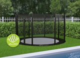 Trampoline Akrobat Primus Flat to the ground 305 Premium Zwart_