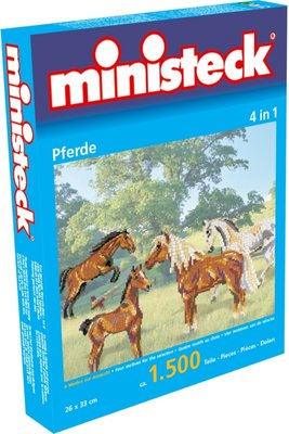 Ministeck Paarden 4-in-1 1500-delig