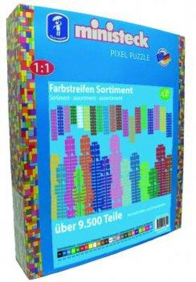 Ministeck Kleuren strips, 9500-delig