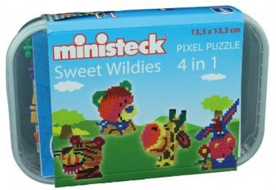 Ministeck Midi Box Sweet Wildies 4-in-1   510-delig