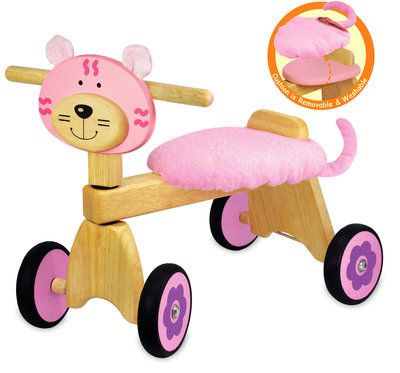 I'M Toy Loopfiets Poes Rose
