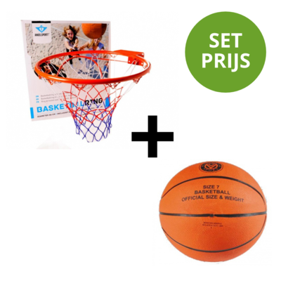 Angel Basketbalring 46cm + Basketbal