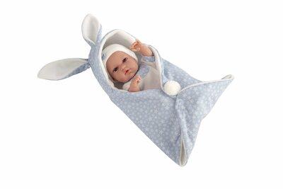 Arias Baby  Pop Blank Natal 33 Cm Blauw