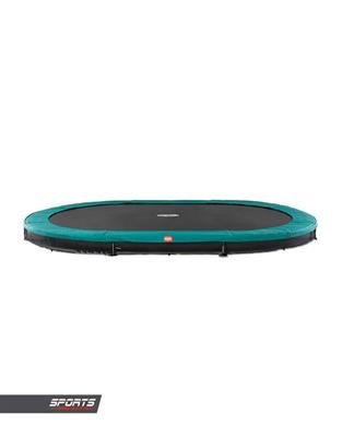Trampoline BERG GRAND FAVORIT INGROUND 520 x 345 GREEN