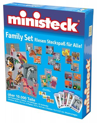 Ministeck Familiebox (+10.000-delig)