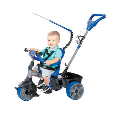 Little Tikes driewieler blauw 4 in 1