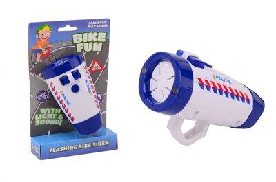 Bike Fun Fietslamp Politie Met Geluid