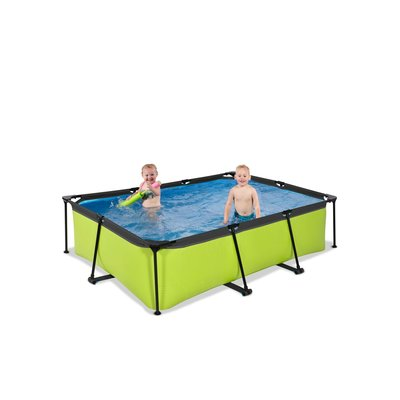 Zwembad Exit Frame Pool 220X150X60Cm (12V Cartridge Filter)  Lime