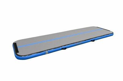Airtrack 12Springs 300, W100 Standaard, Grijs/Lichtblauw +Pomp
