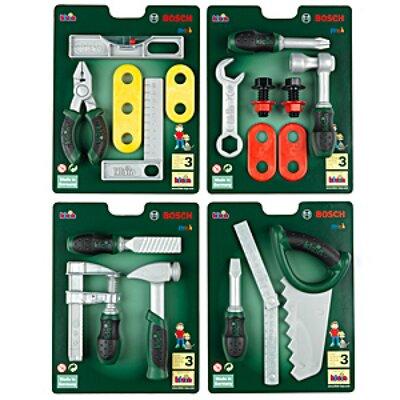 Bosch Speelgoed Technico Gereedschapskaart 4 Delig