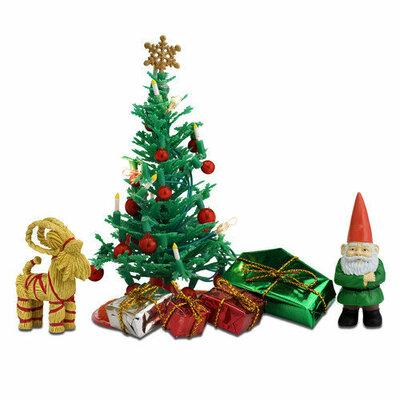 Lundby poppenhuis Kerstboom met toebehoren