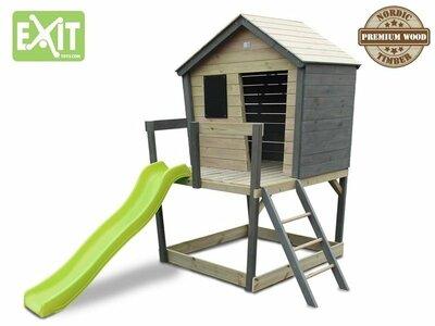 Exit Aksent houten Speelhuis