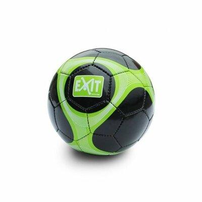 Exit Voetbal maat 5 zwart/groen