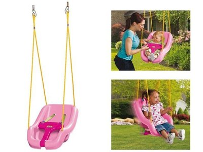 schommelzitje Little Tikes 2 in 1 roze