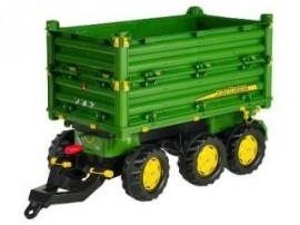 Rolly Toys Multi Trailer John Deere 3-assig
