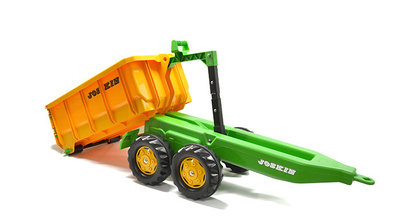 Traptracktor Rolly toys Containeraanhanger Joskin