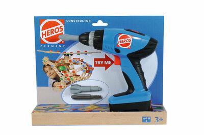 Heros constructor mechanische schroefmachine