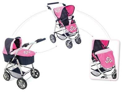 Bayer Chic Poppenwagen Emotion 2-in-1