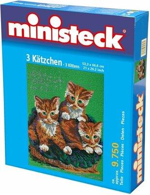 Ministeck 3 Katten, ca. 9750-delig