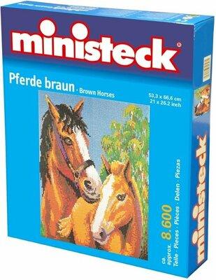 Ministeck Paard Bruin, Ca. 8600-Delig