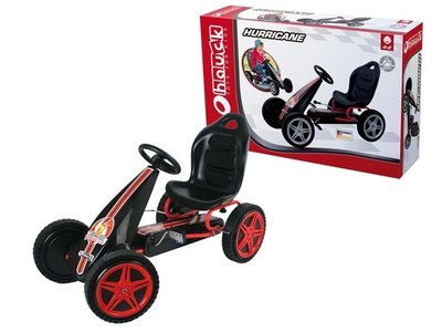 Skelter hurricane go kart red