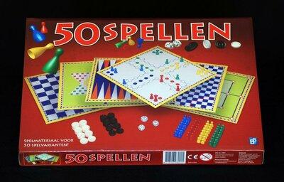 Spellendoos 50 gezelschapsspelen