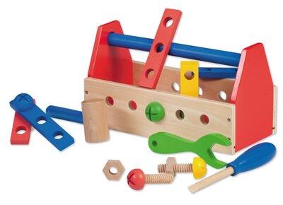 Jouéco Houten speelgoed Baby en peuter Gereedschapskist