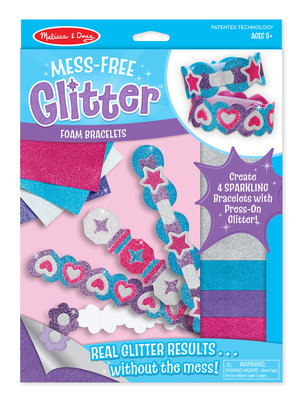 Melissa & Doug  Foam glitterarmbandjes maken