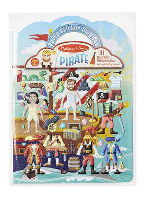Melissa & Doug  Herbruikbare puffy stickerblok (piraat)