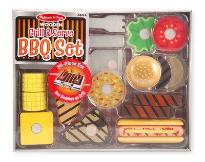 Melissa & Doug  Barbecue (BBQ) set (20-delig)