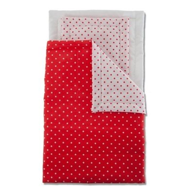 Micki matrasset rood met witte stip