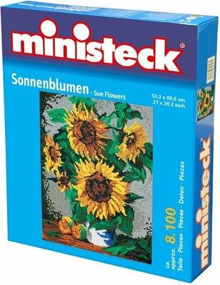 Ministeck Zonnebloemen, Ca. 8100-Delig