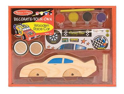 Melissa & Doug  Houten Raceauto Maken