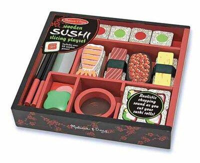 Melissa & Doug  Houten Sushi Speelset