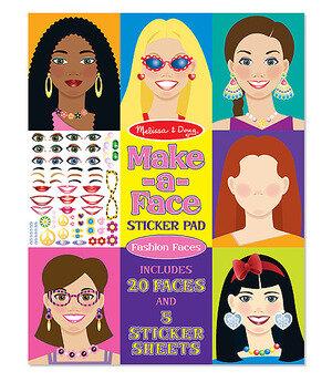 Melissa & Doug  Stickerblok Make a Face