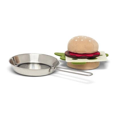 Micki  Koekenpan Met Hamburger