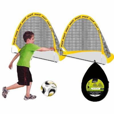SportX Folding Soccer Goal Set