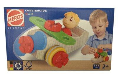 Heros Constructor maxi (vliegtuig + figuur)