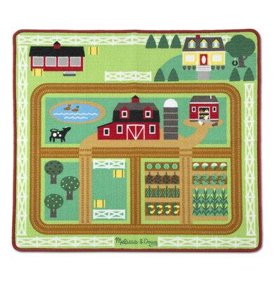 Melissa & Doug Speelkleed boerderij (95x95cm)