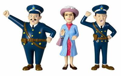 Micki figuren politie en dame