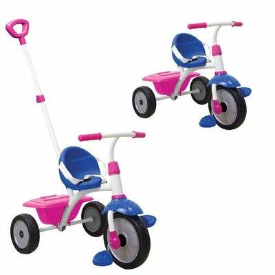 Driewieler Smart Trike  fun blauw roze