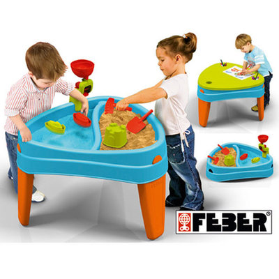 Feber Speeltafel -zand- en watertafel Play Island