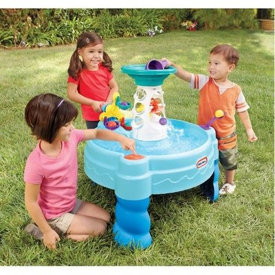 Little Tikes watertafel 'Ball drop bay' (blauw)