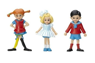 Micki figuren Pippi, Tommy & Annika