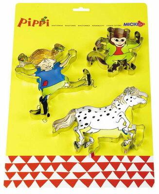 Micki Pippi koekjesvormen