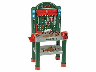 Bosch speelgoed werkbank met gereedschap en accessoires 79 delig