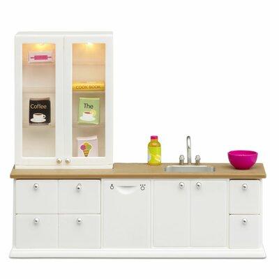 Lundby poppenhuis Set - Keuken met vaatwasser