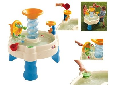 LITTLE TIKES SPIRALIN' SEAS WATERPARK WATERTAFEL
